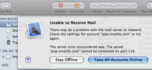 Broadband and Email Problems in Dublin | page cannot be displayed